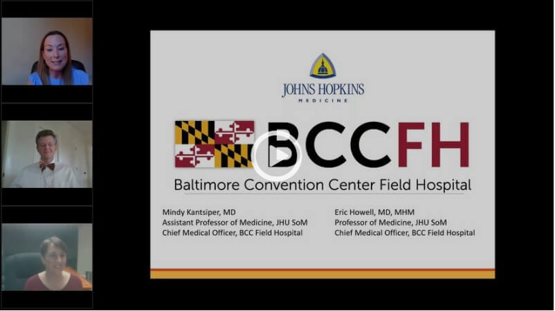 Baltimore Field Hospital Webinar