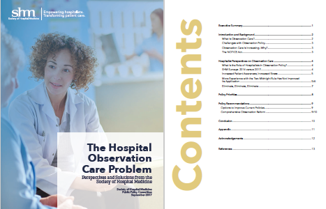 SHM published a white paper with perspectives from hospitalists on how it impacts their practice and patients and recommendations for policy changes.